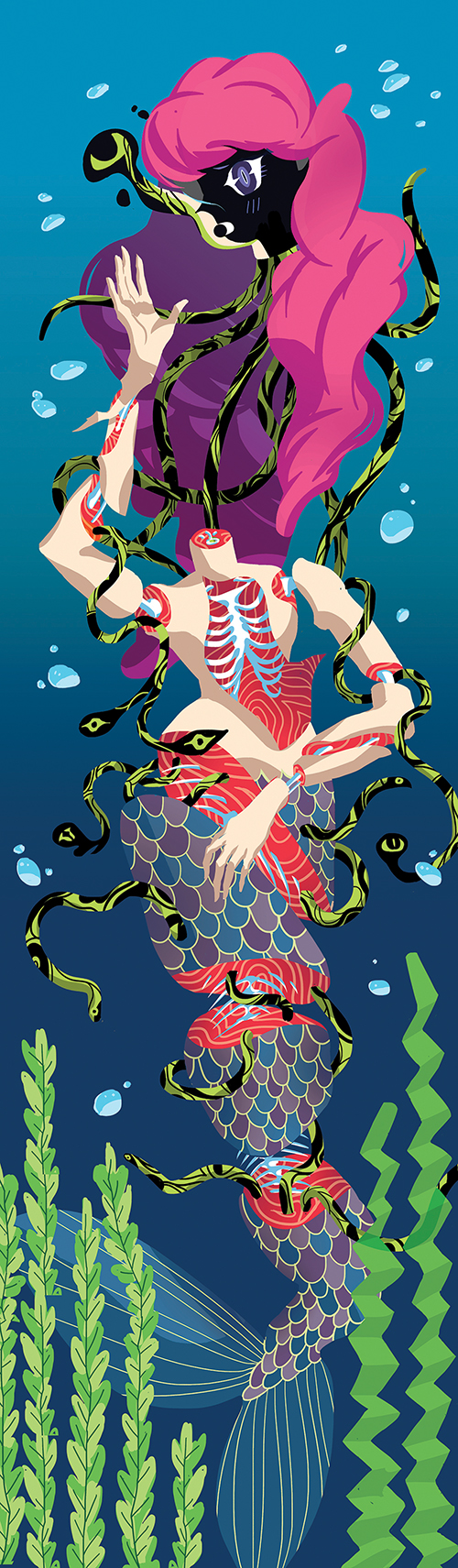 """Mermaid Sushi"" by Alice Tse"