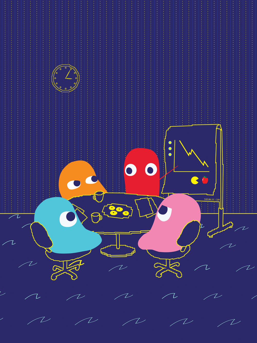 """Loss Prevention Against Pac-Man"" by Soeun Lee"
