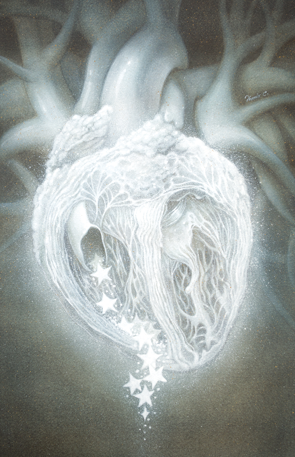 """Ghost Heart"" by Phoenix Chan"