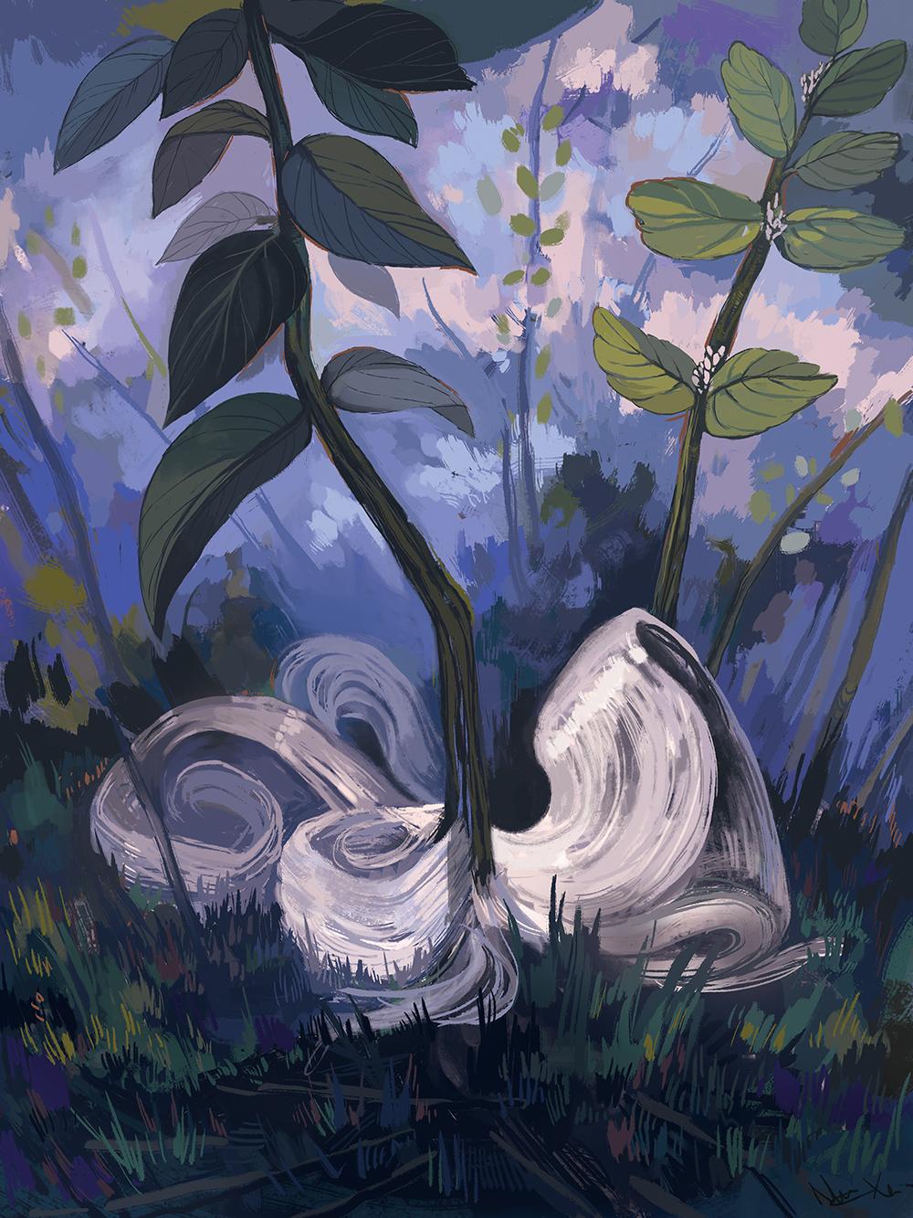 """Crystallofolia"" by Nicole Xu"