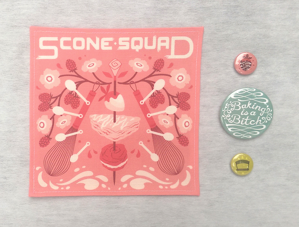 """Scone Squad"" by Hannah Culbert"