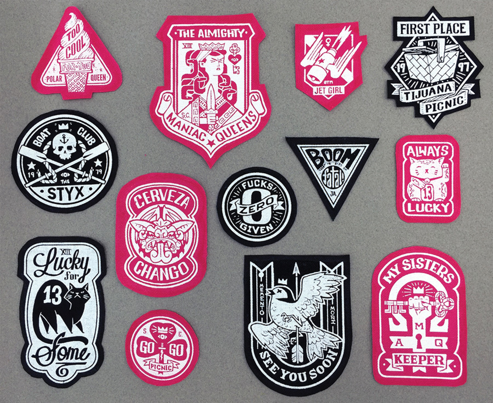"""Instant Badass™ Patch Kit"" by Rory Phillips"