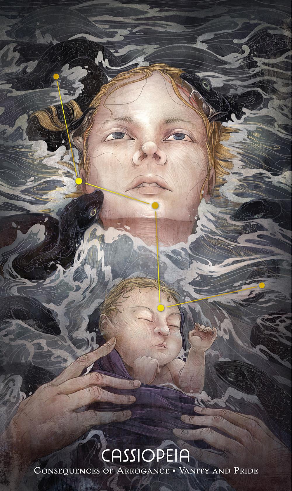 """""""Cassiopeia"""" by Corinne Reid"""