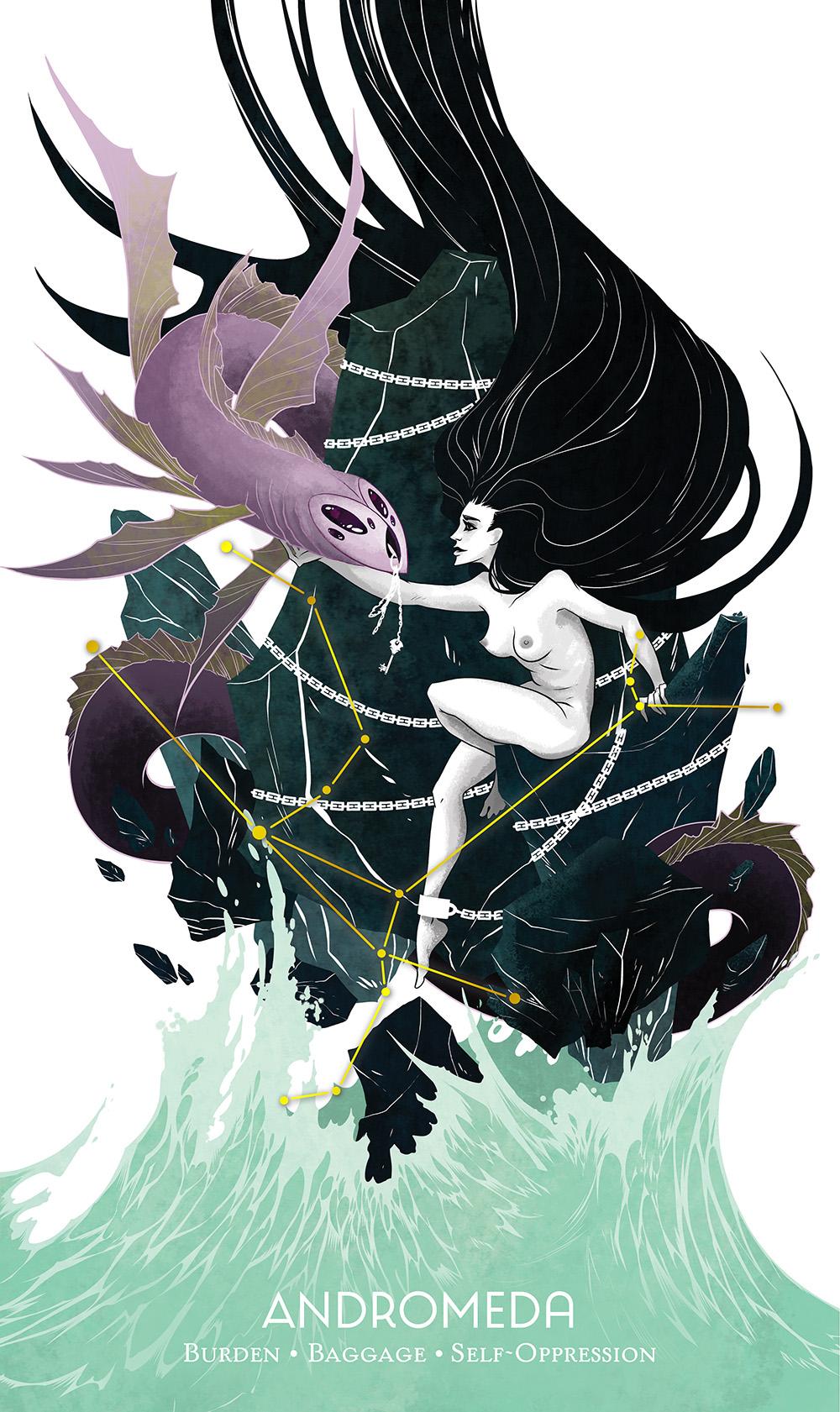 """""""Andromeda"""" by Barbara Guttman"""