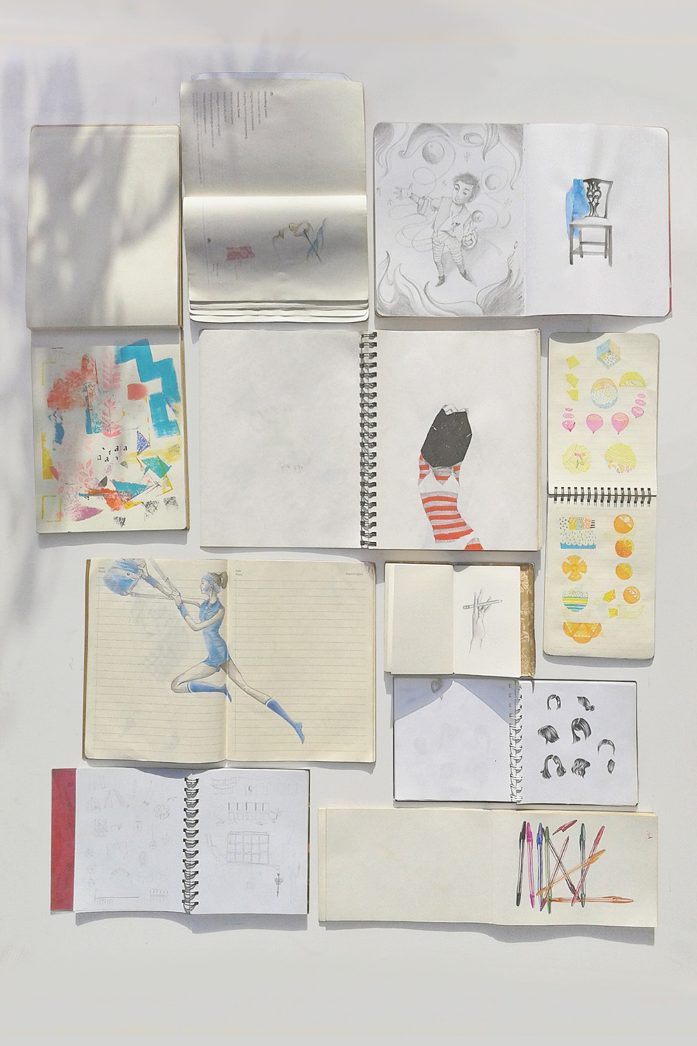 """Sketchbooks""  by Angela Taguiang"