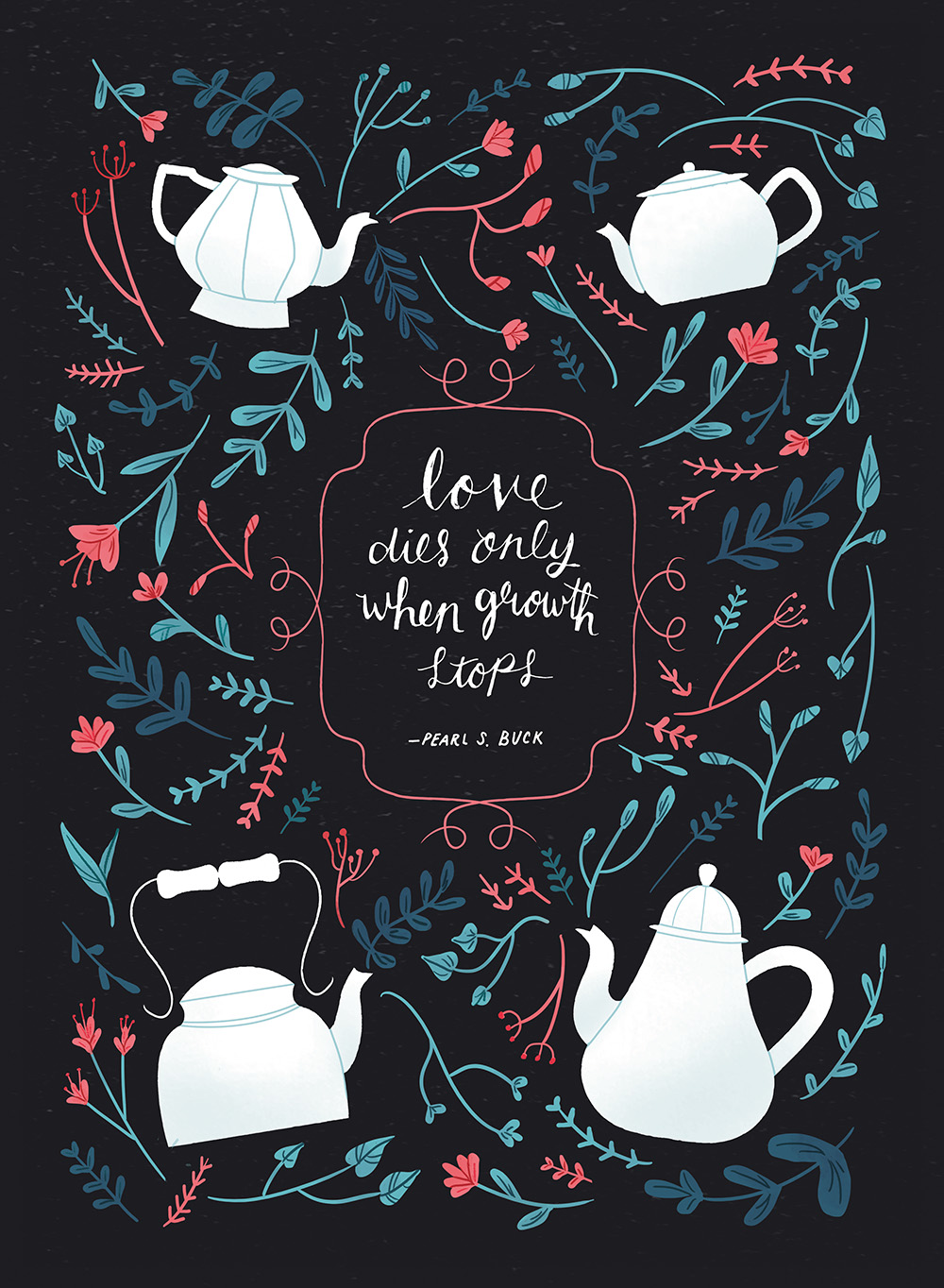 """Blooming Tea"" by Vanessa Port"