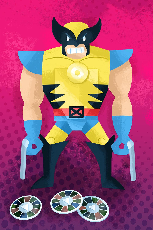 """""""X Men Projectors Wolverine Toybiz 1994"""" by Tyler Parker"""