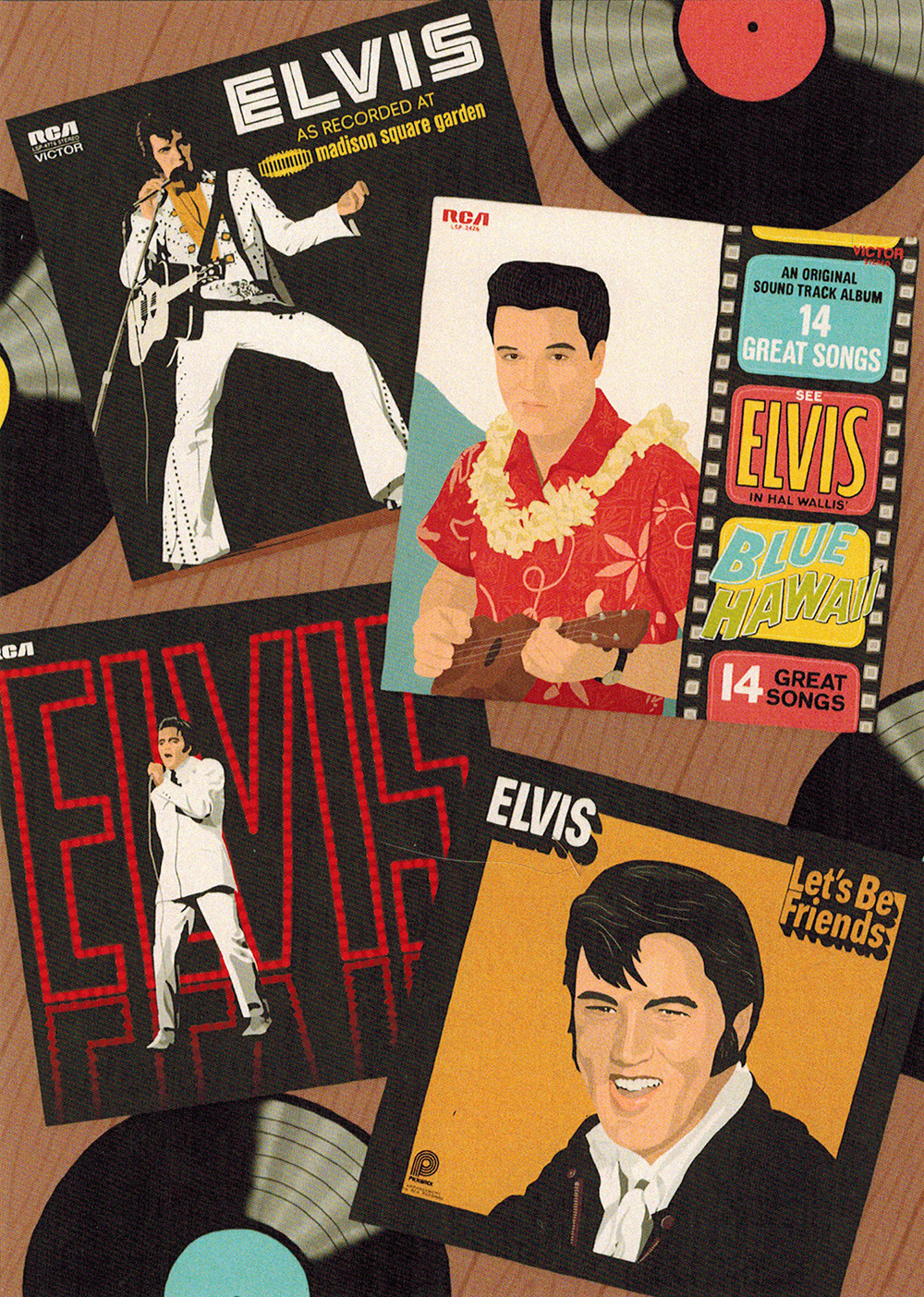 """Elvis on Vinyl"" by Katlyn Griffin"