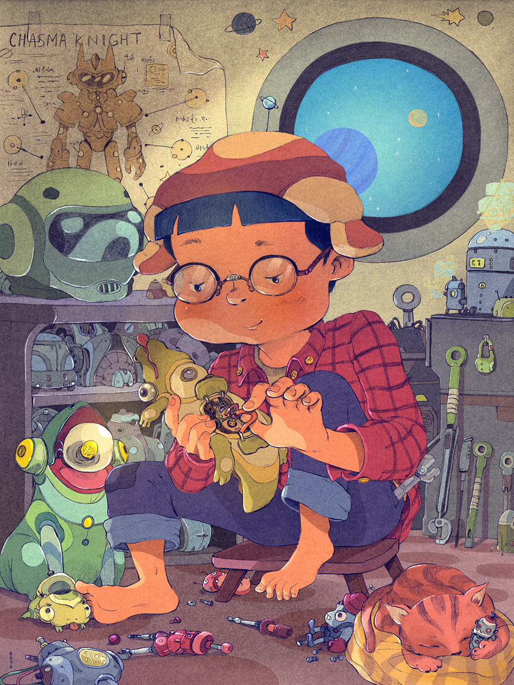 """The Toy Maker"" by Boya Sun"