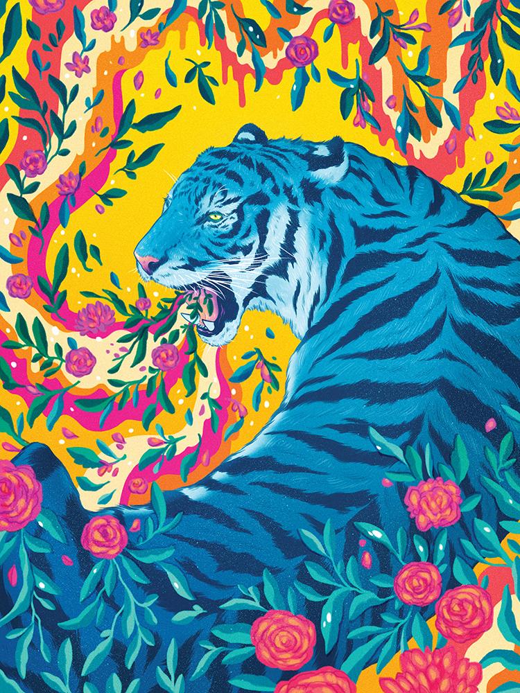 """""""Spring Tiger"""" by Jen Bartel"""