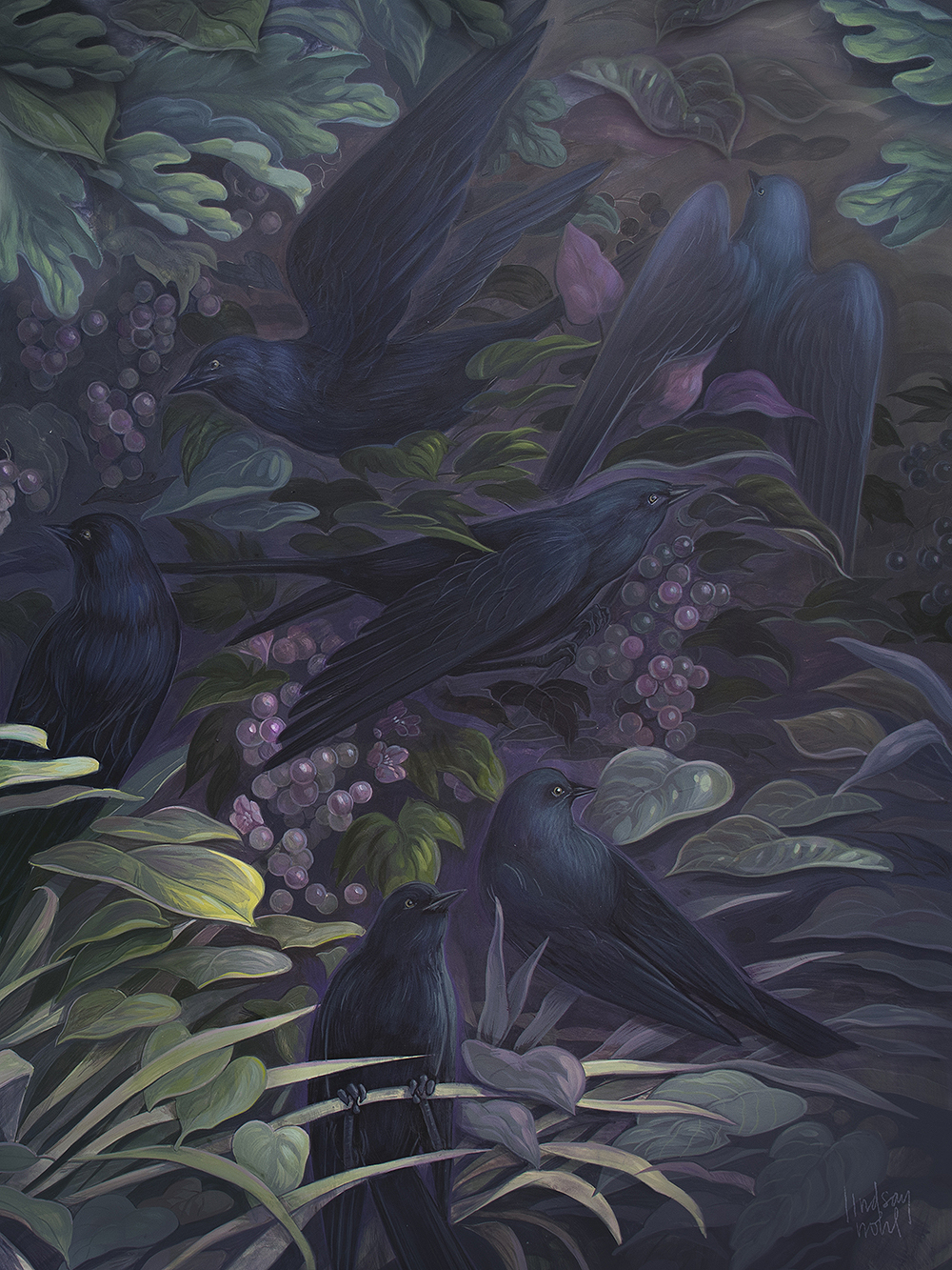 """Grackles"" by Lindsay Nohl"