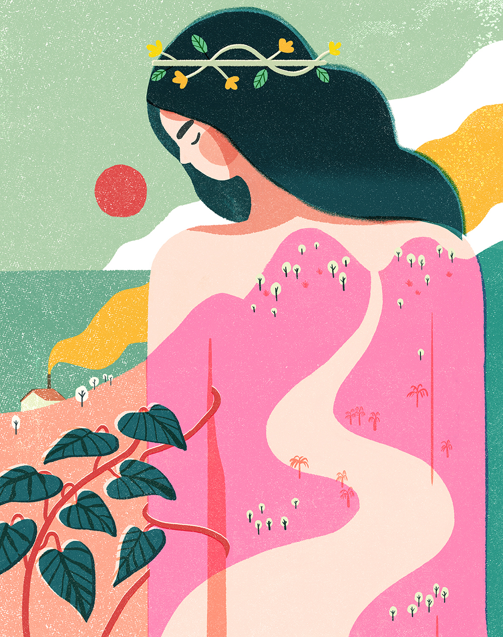 Geraldine Sy's work  How to Befriend a Mountain  for Weekend Magazine