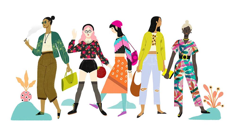 Geraldine Sy's work  Fashion