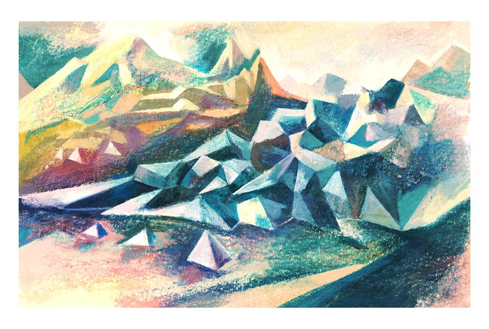 """""""Glacier"""" by Matt Forsythe"""