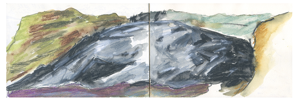 """Sketchbook (Glacier)"" by Ana Benaroya"