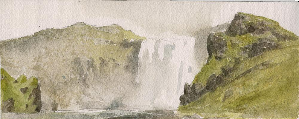 """""""Skógafoss"""" by Justin Oaksford"""