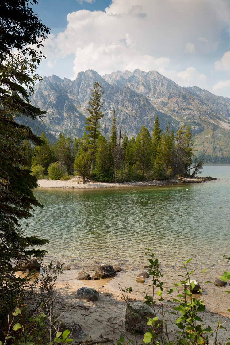 Jenny Lake has plenty of trails with incredible views of the Tetons