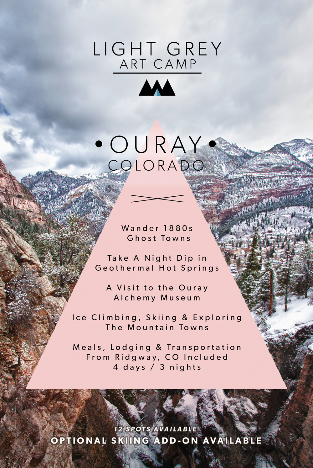 Join us for Light Grey Art Camp in Ouray, Colorado!