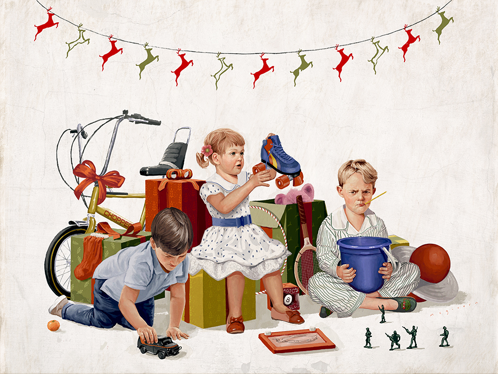 """Merry Christmas"" by Kevin McGivern"