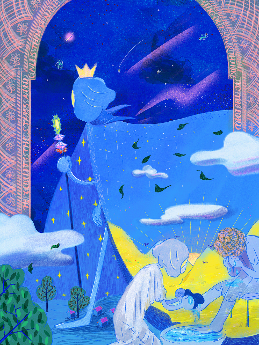 """Counting the Stars by Name"" by Shirley Chan"