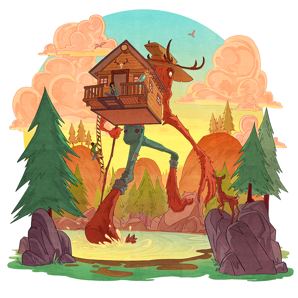 """The Cabin"" by Alex Moore"