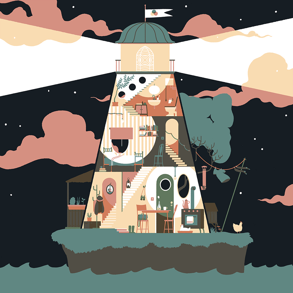 """Lighthouse Home"" by Anine Bösenberg"