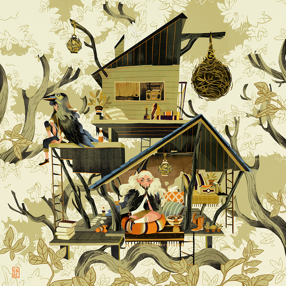 """Treehouse"" by Natalie Dombois"