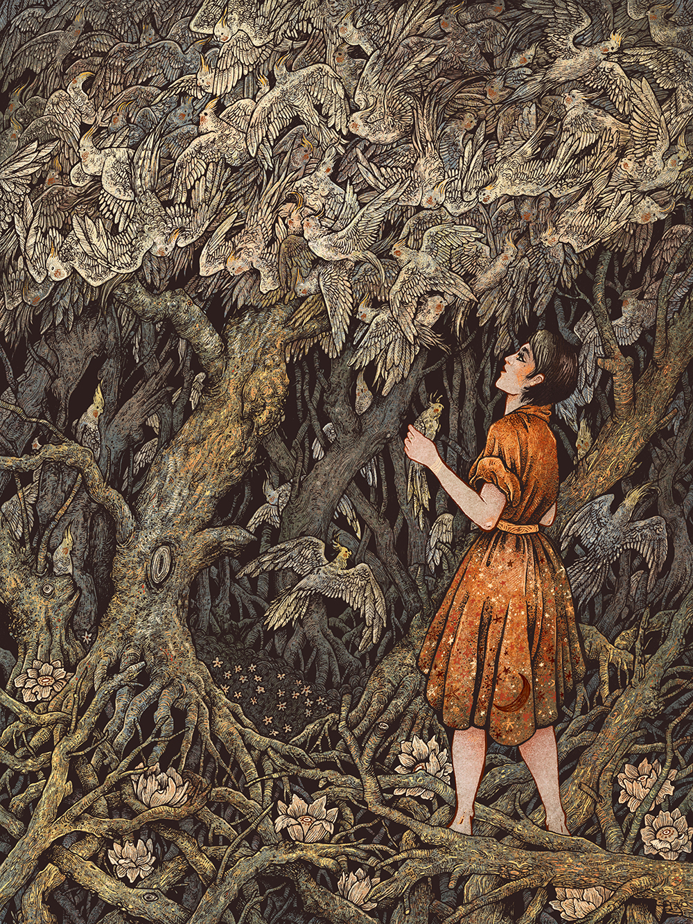 """A Ceaseless Flock"" by Angela Rizza"