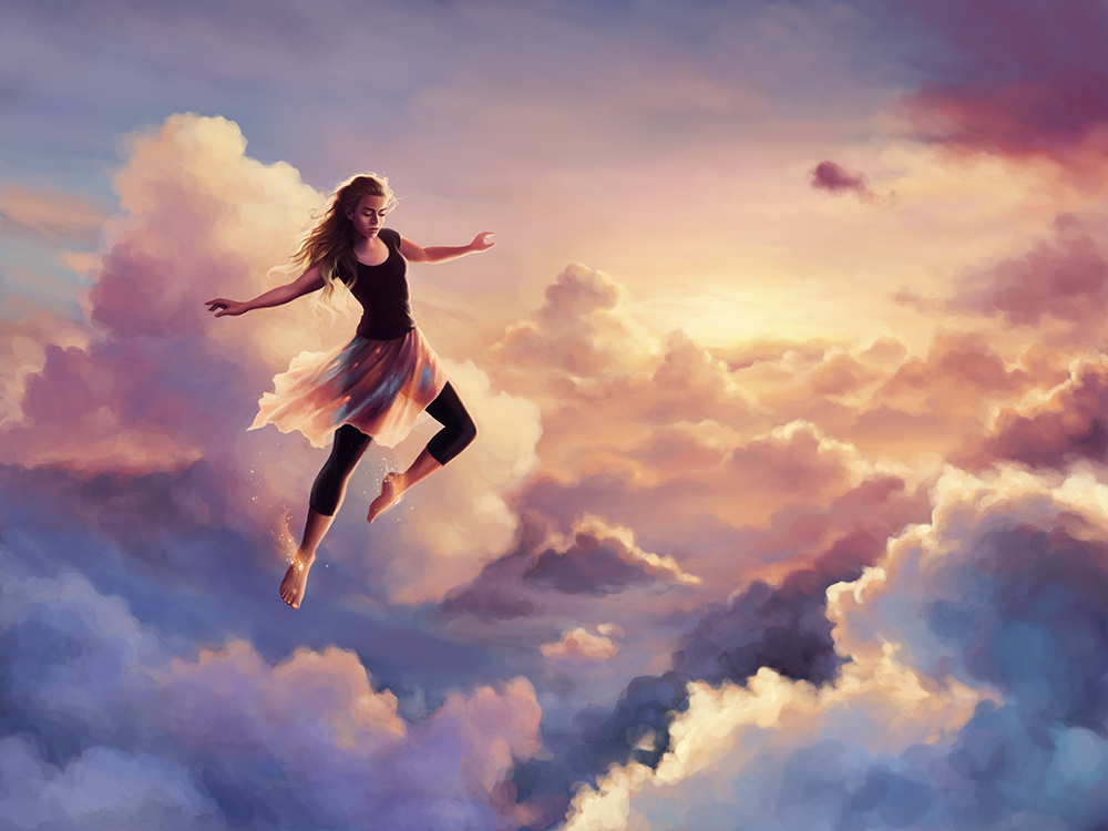 """Chase the Sky"" by Louisa Gallie"