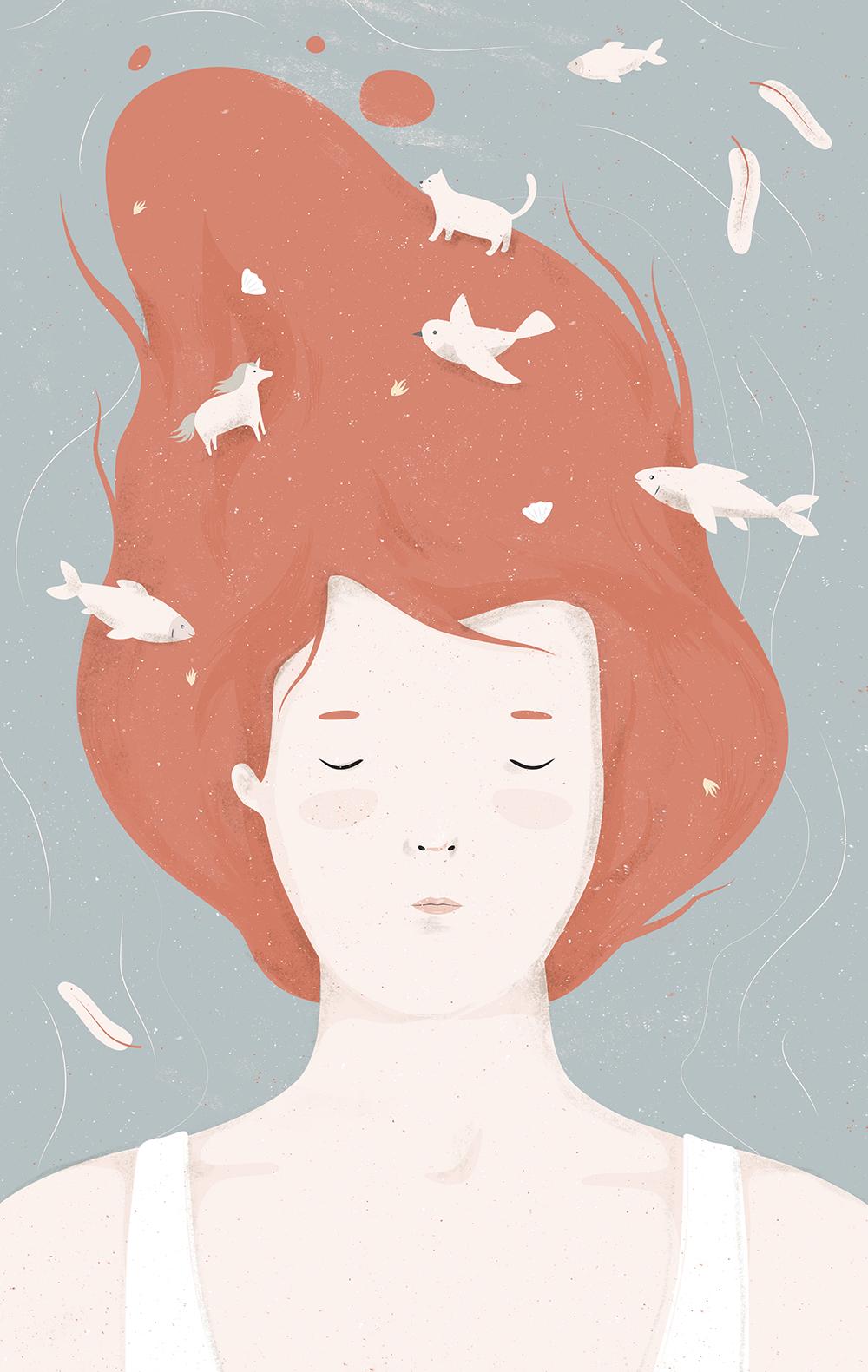 """18) """"Falling Asleep"""" by Cami Dobrin"""