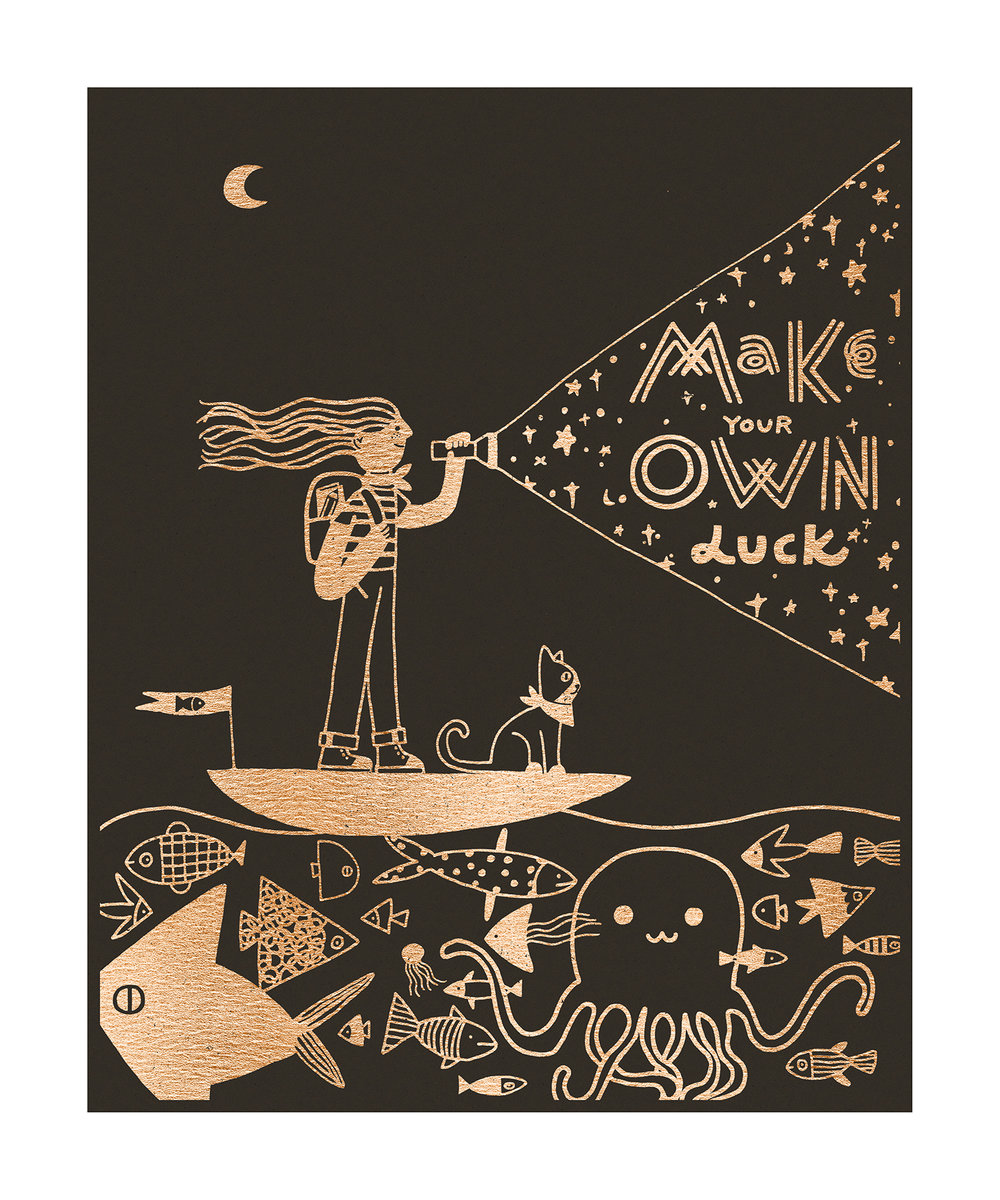 """Make Your Own Luck"" by Yinfan Huang"