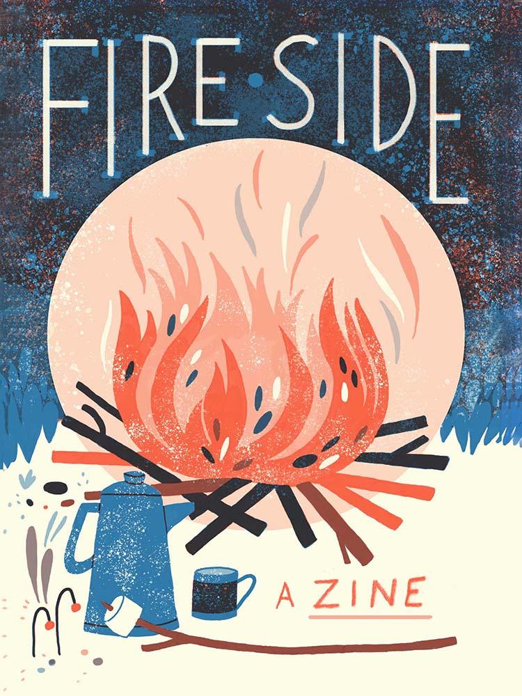 """""""Fireside"""" –  Kayla Stark"""