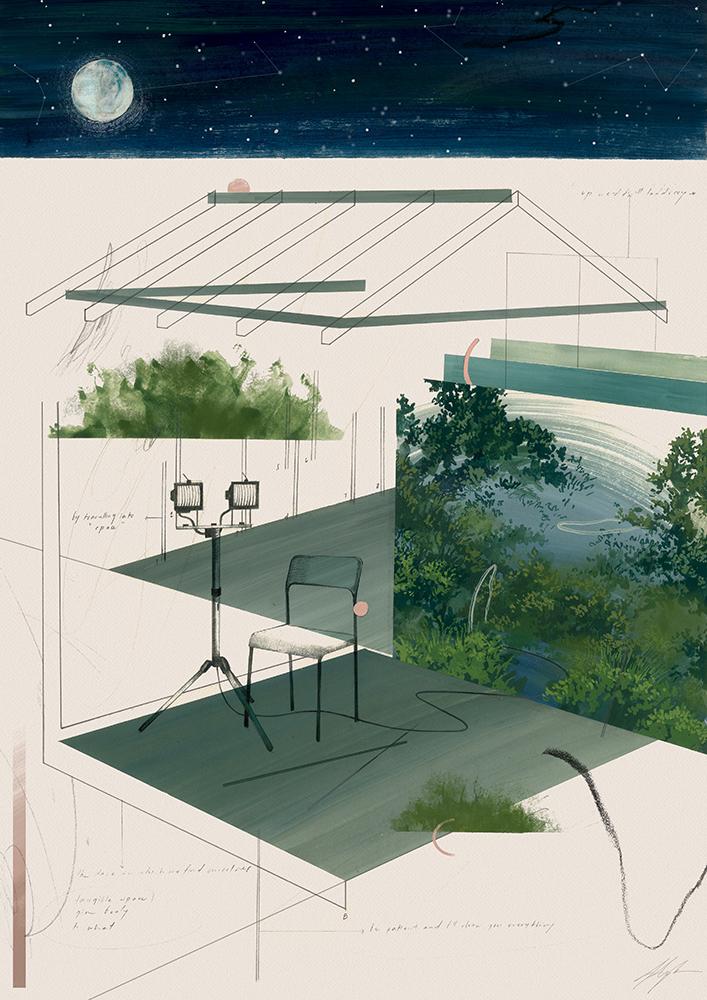 """If We Opened People Up, We'd Find Landscapes"" –  Jem Magbanua"