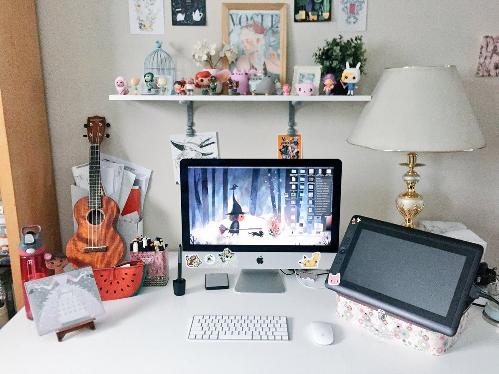 Anoosha's workspace