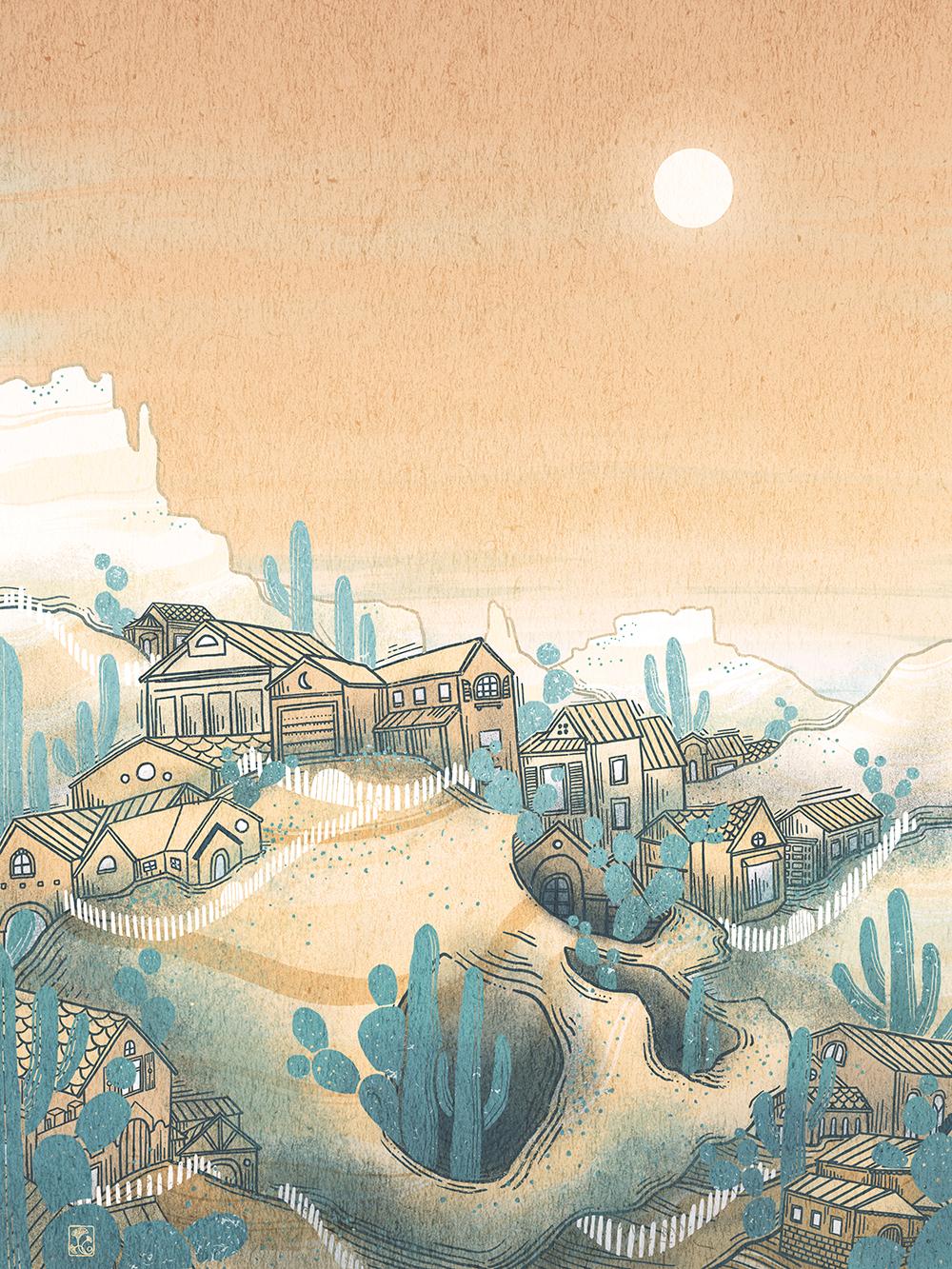 """Navajo White"" by Christina Chung"