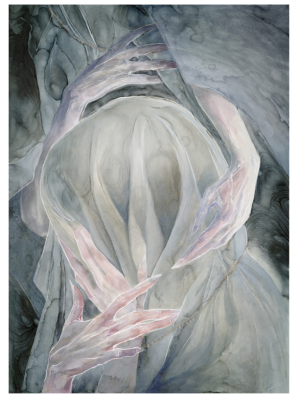 """Ghost White"" by Gabriella Liv Eriksson"