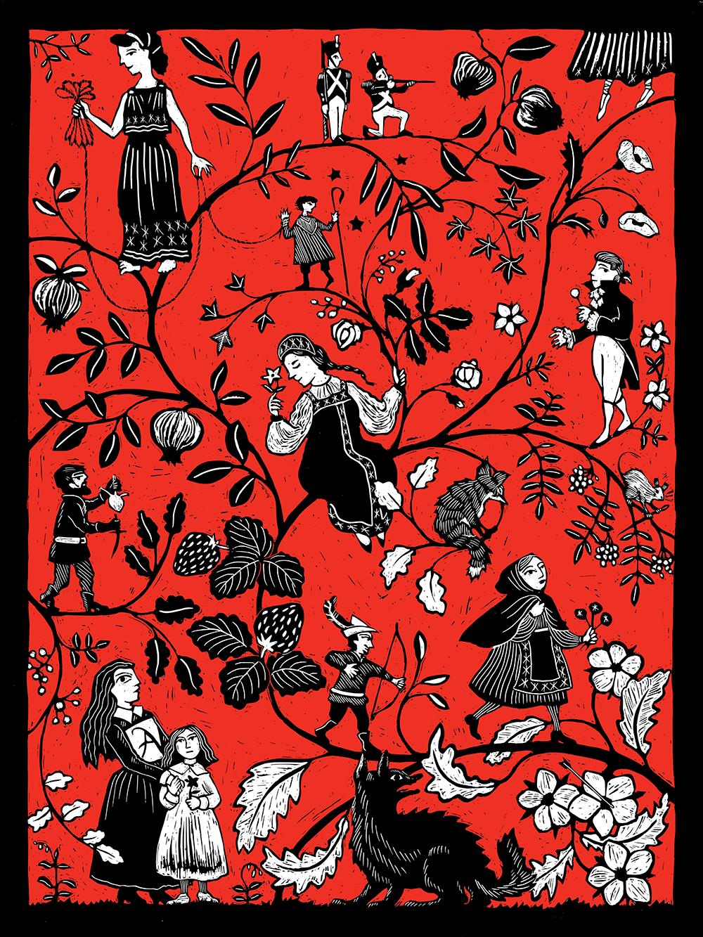 """Scarlet"" by Kathleen Jennings"