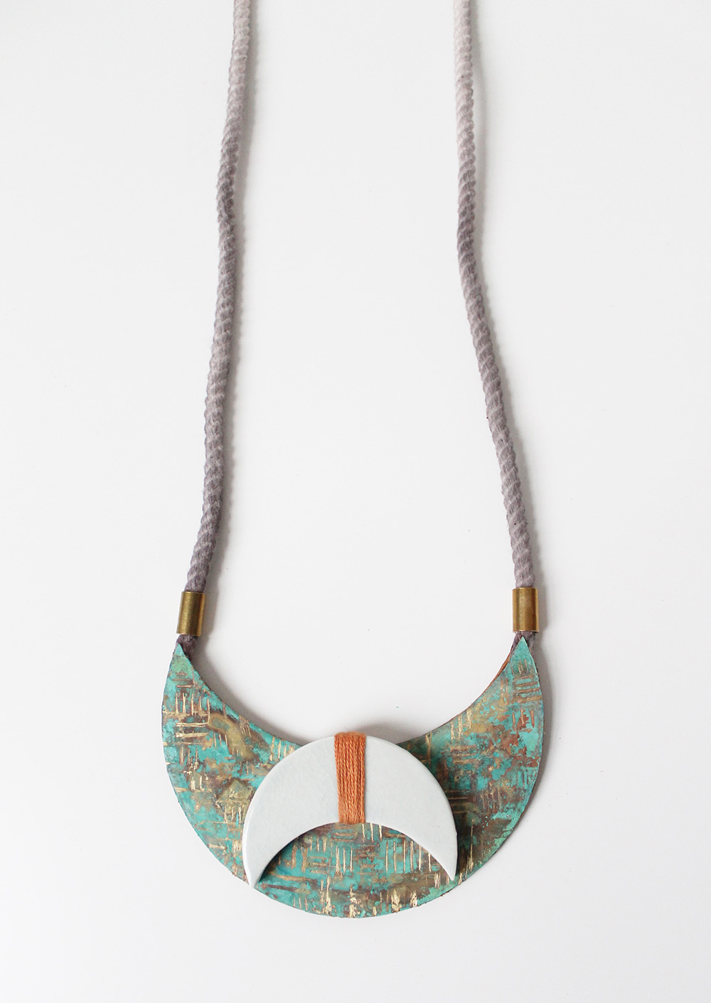 """Dusk Necklace"" – Janelle Gramling"