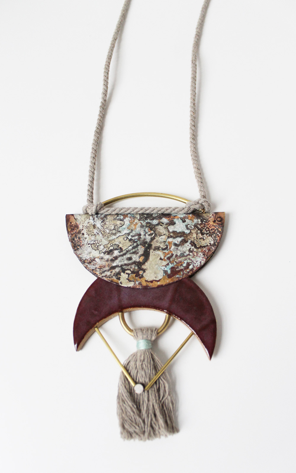 """Half Moon Necklace"" – Janelle Gramling"