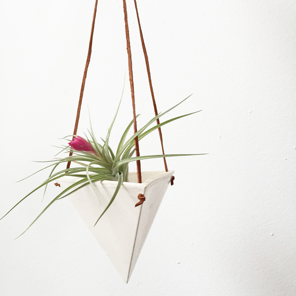 """Pyramid Hanging Vase"" – Janelle Gramling"