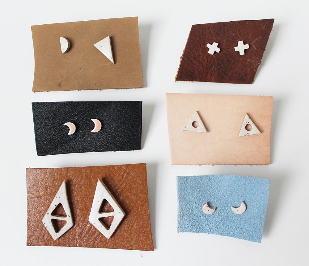 """""""Ceramic Studs"""" – Janelle Gramling"""
