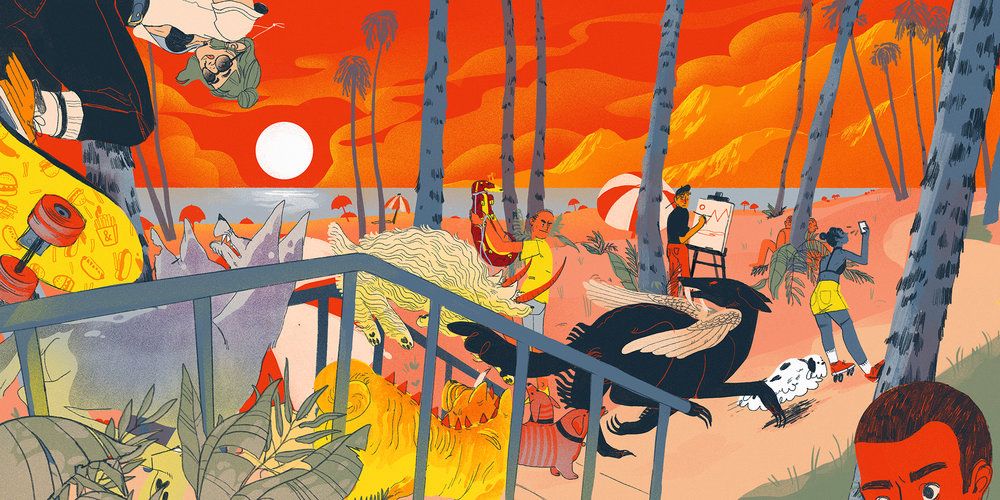 """JUICE BEACH"" by Chelsea Beck"