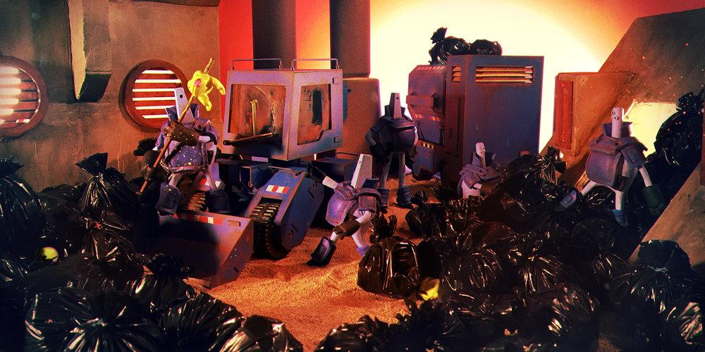 """""""Garbage Day"""" by Evan Kang"""
