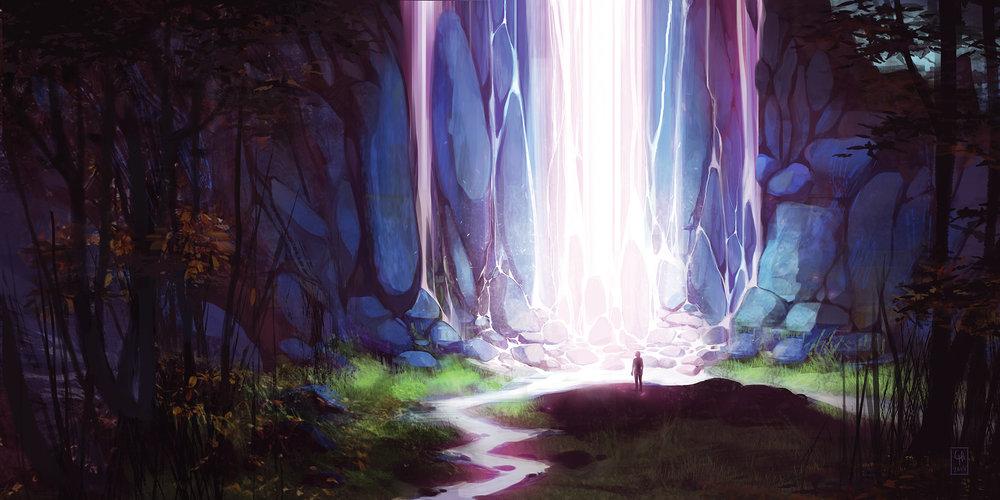 """Light Falls"" by Chelsea Harper"