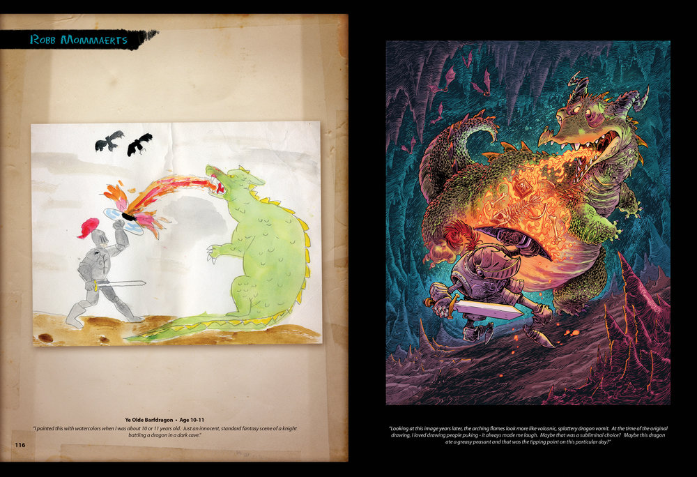 Ye Olde Barf Dragon by Robb Mommaerts