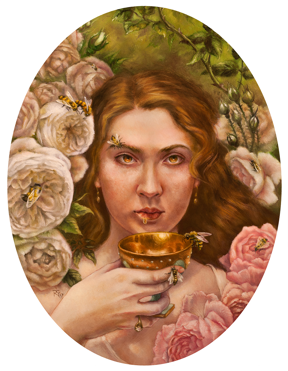 """She on Honey-Dew Hath Fed"" by Paige Carpenter"
