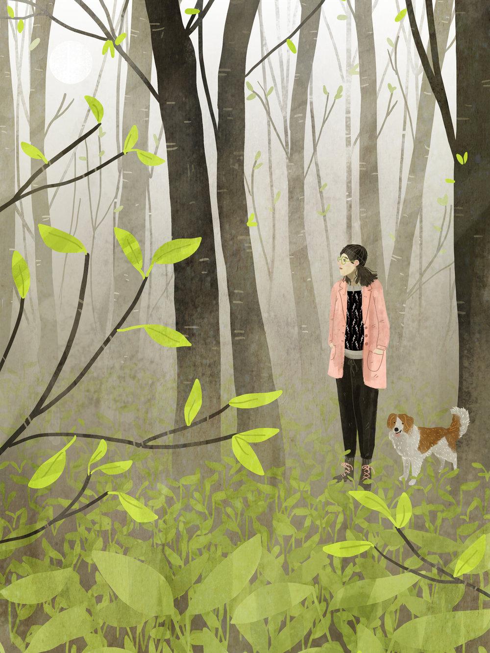 """Spring Forest"""