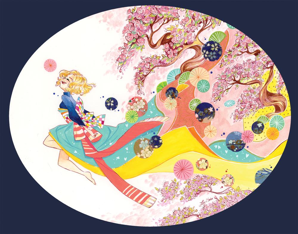 """Cherry Blossom Garden"""