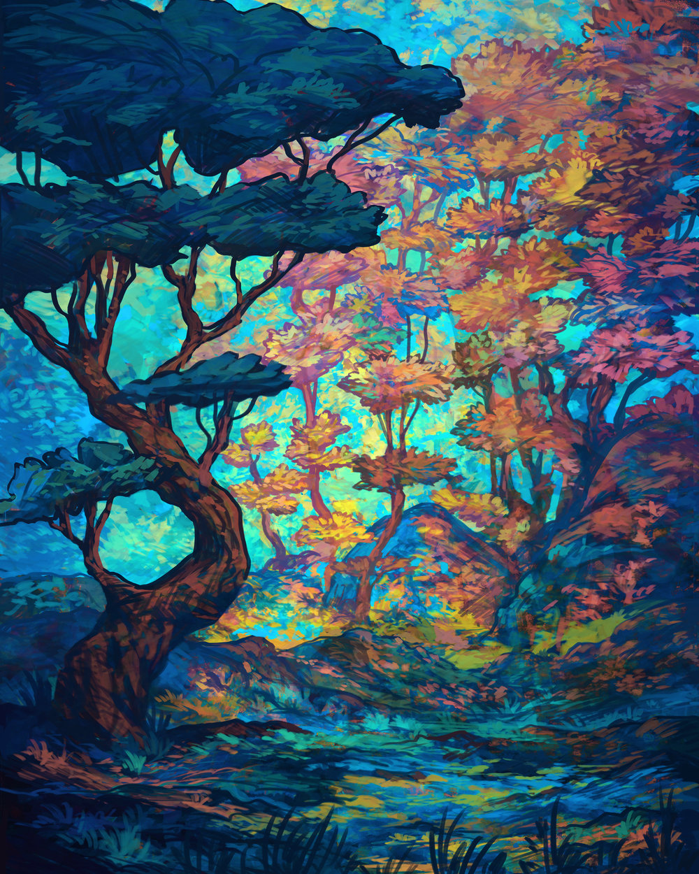 """Vermillion Forest"""