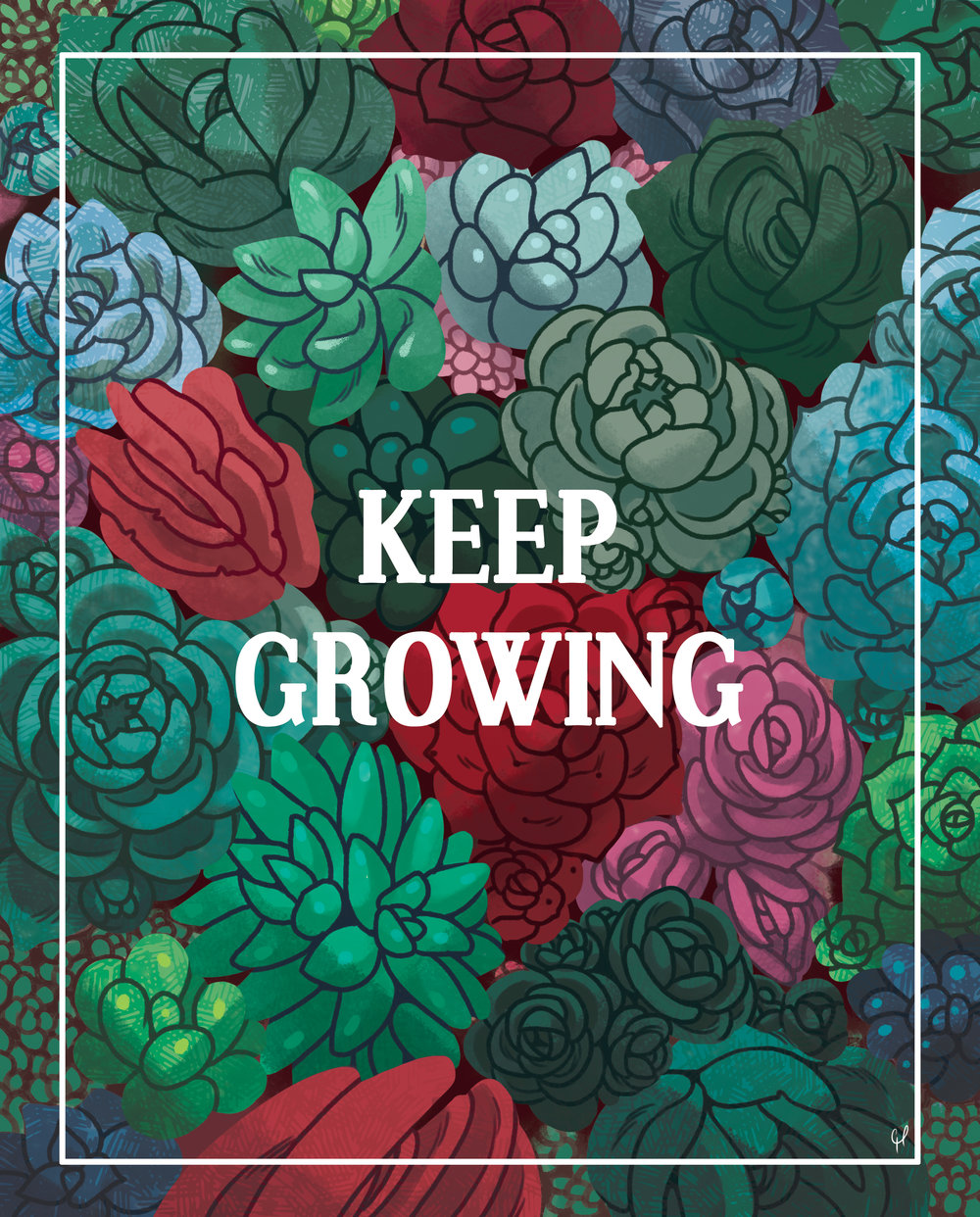 """Keep Growing"""